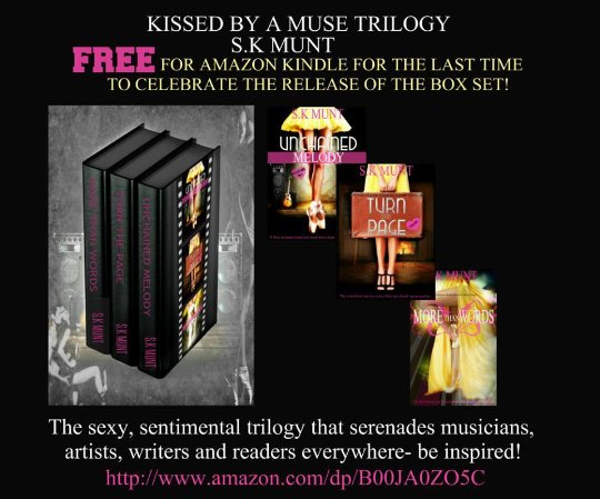 The Kissed By A Muse Trilogy