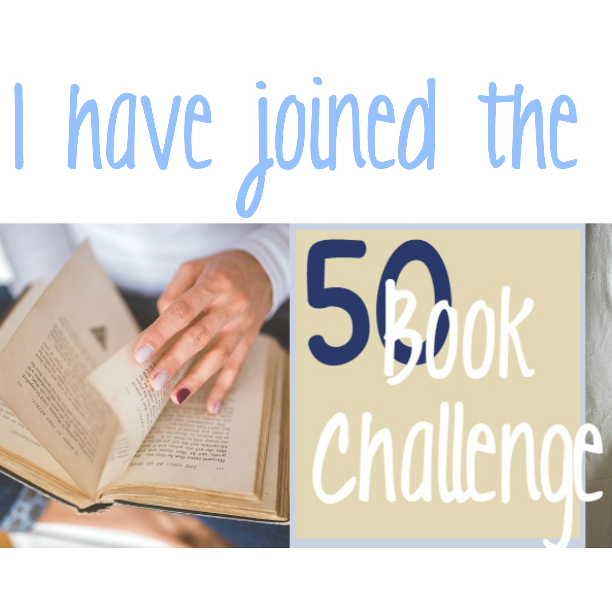The 50 Book Challenge
