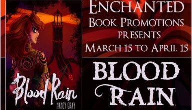 """Book Tour """"Blood Rain"""""""