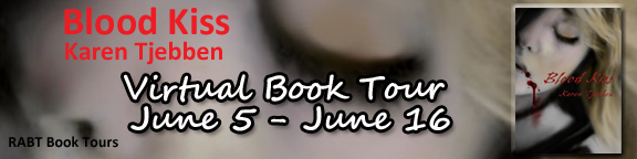 Karen Tjebben – Blood Kiss – Virtual Book Tour